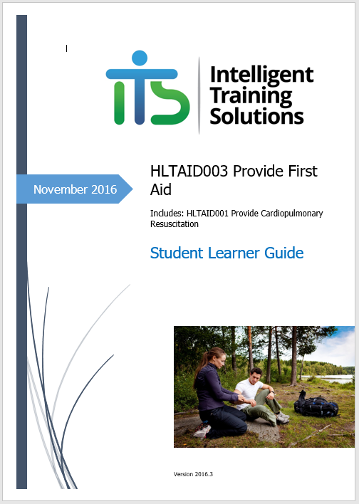 HLTAID003 Provide First Aid - Trainer Resource