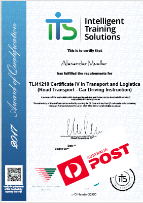 Printed Certificate - Regular Post Delivery (2 to 14 Days)