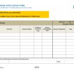Credit Transfer Application Form
