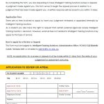 Application to Waive Late Payment Fees