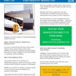 In the Passenger Seat - Newsletter