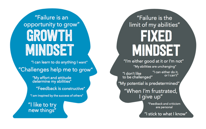 Growth Mindset vs Fixed Mindset – Which one are you?